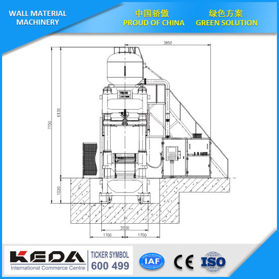 automatic refractory hydraulic press for brick making