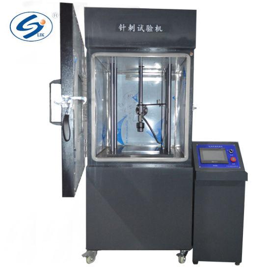ISO Microcomputer Control Li Ion Battery Nail Penetration Testing Machine