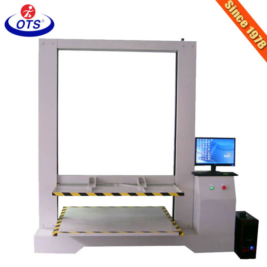 Servo Motor Box Carton Compression Strength Testing Machine Tester