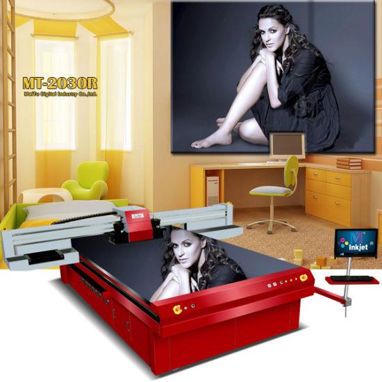 Large Format 2m*3m UV Flatbed Inkjet Printer for Acrylic and Ceramic Printing