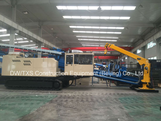 Horizontal Directional Drilling Machine Ddw-4000 with Pullback Force 400t