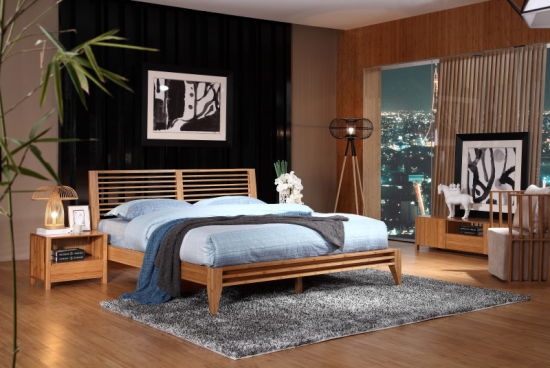 Modern Bamboo Nightstand / Night Stand for Living Room Furniture