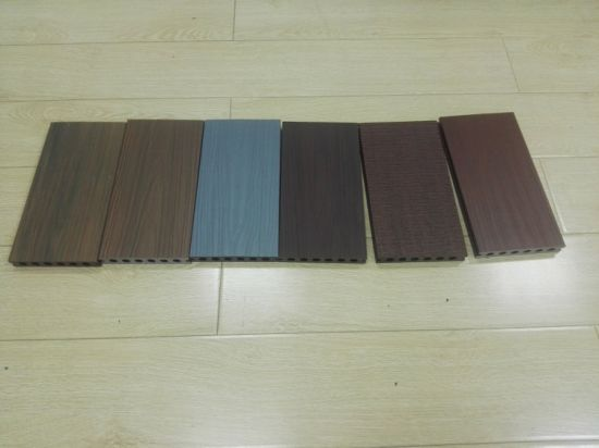 New Co Extrusion WPC Decking Floor pictures & photos