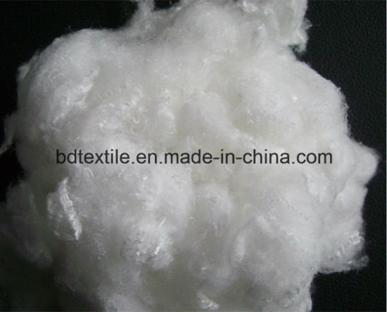 Wholesales China Non-Siliconized Recycled Hollow Conjugated Polyeste Staple Fiber/Polyfill Fiber pictures & photos