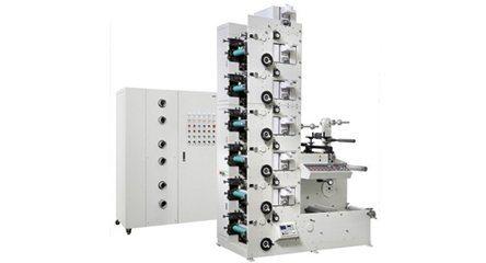 Rtry-420f Narrow Web PVC Label Flexo Printing Machine