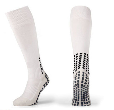 New Fashion Cotton Grid Style Team Sports Football Socks Anti Slip Soccer Socks pictures & photos