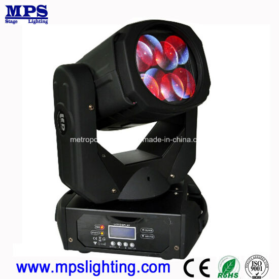 DJ Lighting 4*25W RGBW LED Beam Moving Head