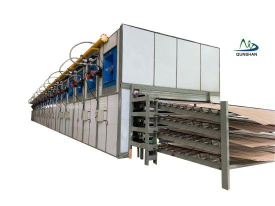 Veneer Dryer, Face Veneer Drying Machine, Plywood Face Veneer Drying Line