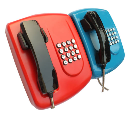 Autodial Emergency Industrial Telephone for Bank Used