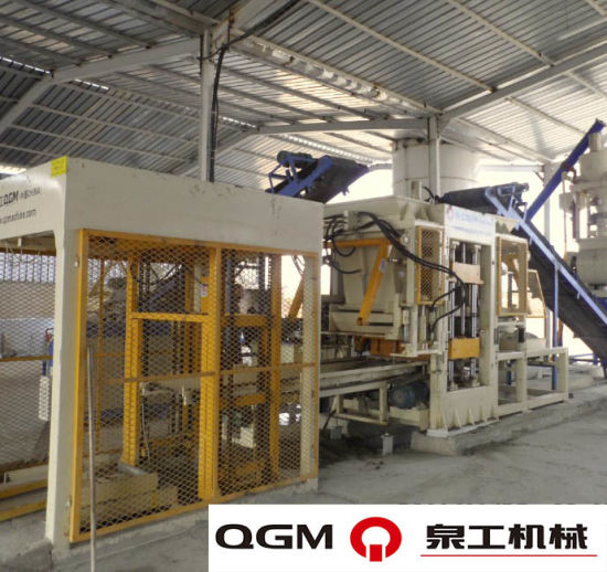 QGM QT6 Automatic Block Machine pictures & photos