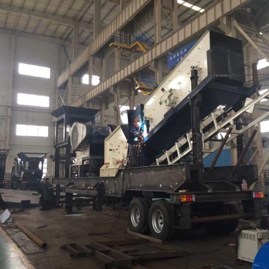 Mining Rock Stone Crushing Machine Mobile Crusher Plant