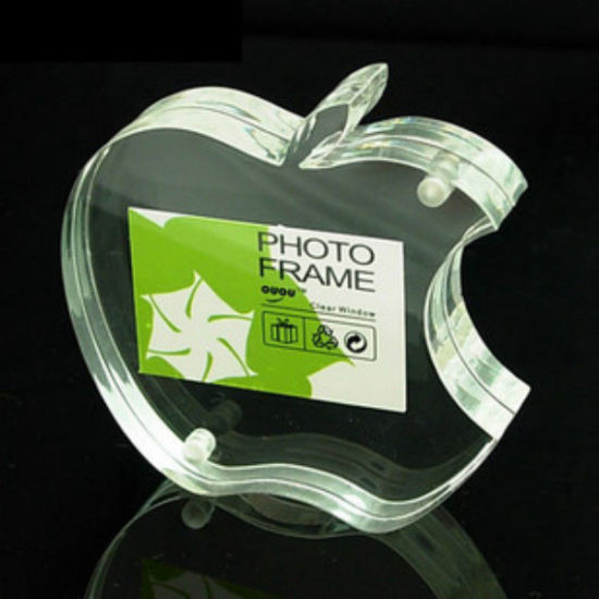 Custom Clear Crystal Acrylic Photo Frame with Customized Logo for Promotion Gift (BTR-U1082)