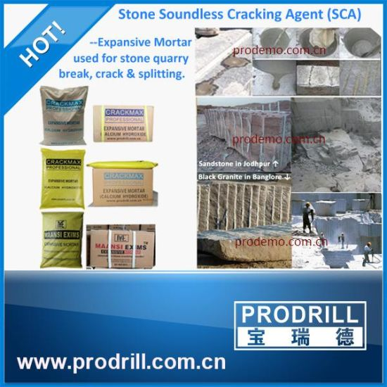 Top Quality Mining Soundless Cracking Agent for Quarry