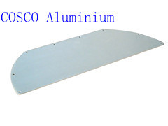 Aluminum/Aluminium Profile for Panel with Blue Anodizing (ISO9001: 2008 Certifed) pictures & photos