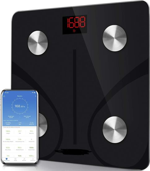 180kg Bluetooth APP Fat Scale Bathroom Scale Weighing Scale