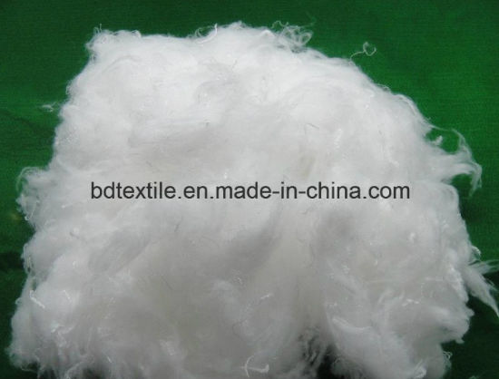 Filling Material Hollow Conjugate Non-Siliconized Polyester Staple Fiber pictures & photos