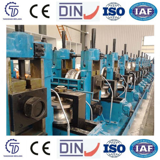 Automatic Tube Making Machine for Metallurgical Industry