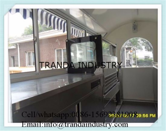 New Style Susage Mobile Restaurant Trucks pictures & photos