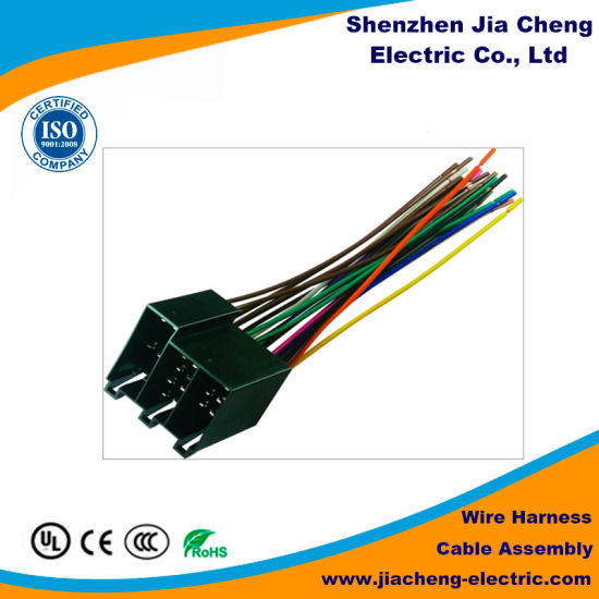 high quality wire harness for auto bus parts