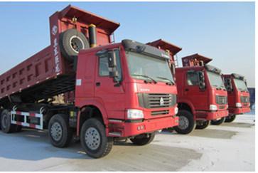 Sinotruk HOWO 8X4 Dump Truck