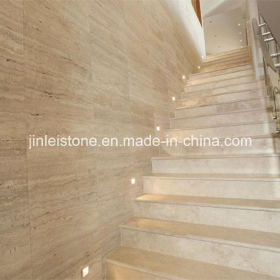 Roman Travertine For Hotel Wall Tile Or Stairs