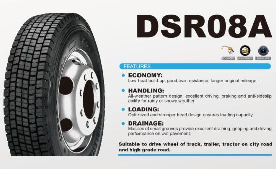 Aeolus, Double Star Brand Radial Truck Tire 8.25r16 pictures & photos