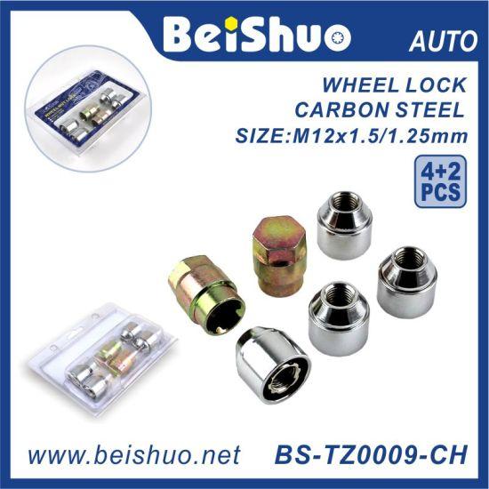 4+2PCS Torx Wheel Nut with Zinc Plated