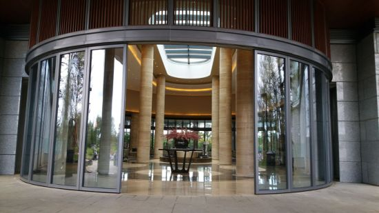 Movable Glass Wall/Curved Glass Wall/Arc Glass Partition Wall