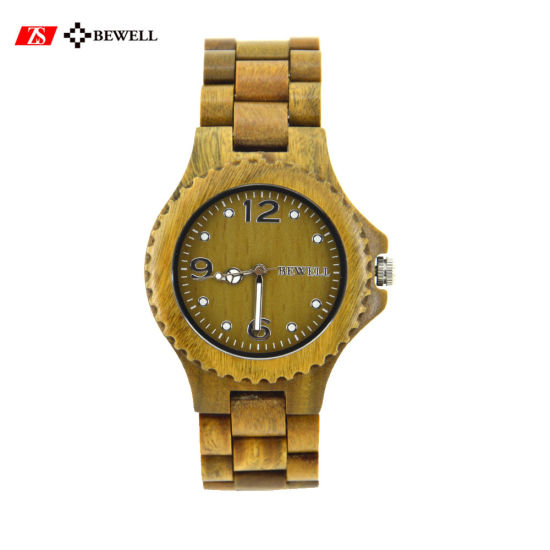 Hot Products Japan Movement Quartz Branded Wooden Watches for Promotion pictures & photos
