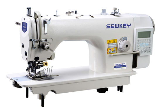 Sk5200d-7 High Speed Direct Drive Lockstitch Machine with Auto Trimmer