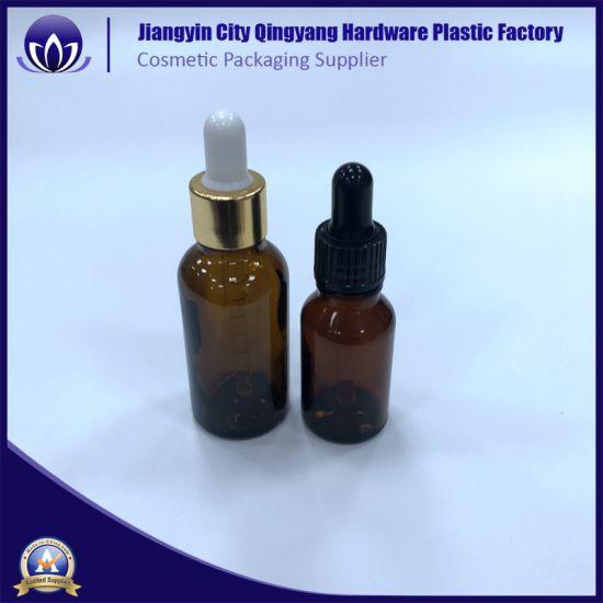 c7a347b251e3 China Wholesale 1 Oz 2 Oz 4 Oz Boston Amber Glass Dropper Bottle ...