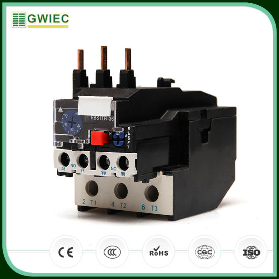 China Gwiec Lr2 Series 25A Safety Thermal Types of Electrical Relays ...