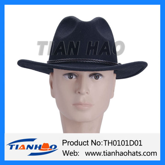 Wholesale China Bavarian Oktoberfest Hiking Cowboy Hat with Leather ... fa38e7aeb154