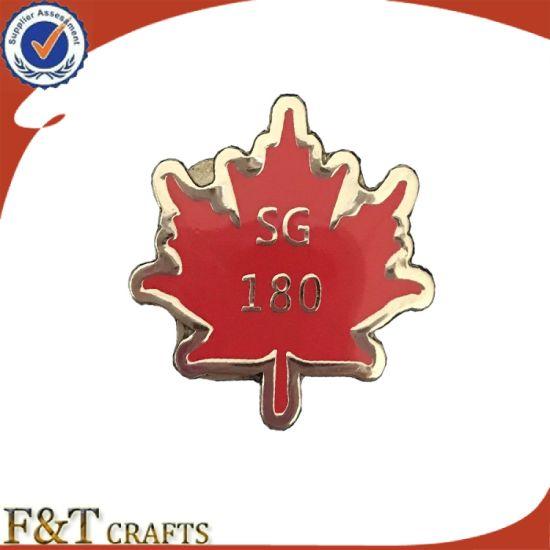 Custom Wholesale Metal Emblem Lapel Pin Promotion Gift Enamel Badge