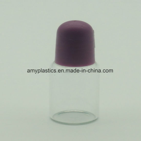 Rolling Ball Cosmetic Glass Bottle pictures & photos