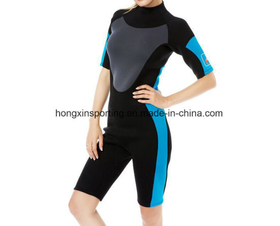China Women′s Shorty Wet Suit for Diving Surfing - China Wetsuit 61eca78d8