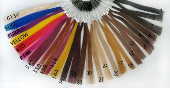China Professional Remy Human Hair Color Ring Color Chart China