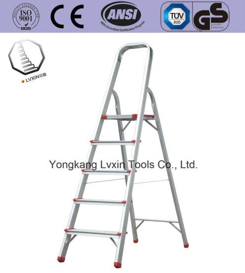 High Quality 5 Steps Household Aluminium Ladder