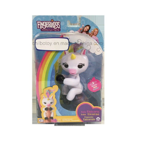 China Fingerlings Interactive Unicorn Toy In Oem Blister Packaging