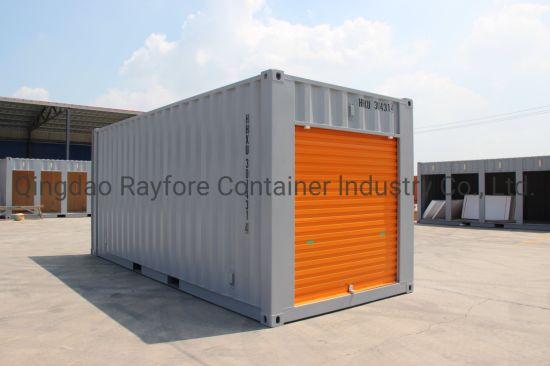 Qingdao Factory Customized Shipped to Europ and Japan 1 Shutter Roller Door Storage Container