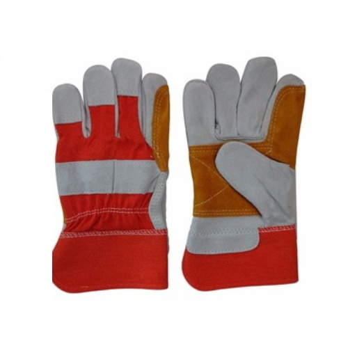 Welding Construction Agriculture Custom Made Leather Gloves pictures & photos