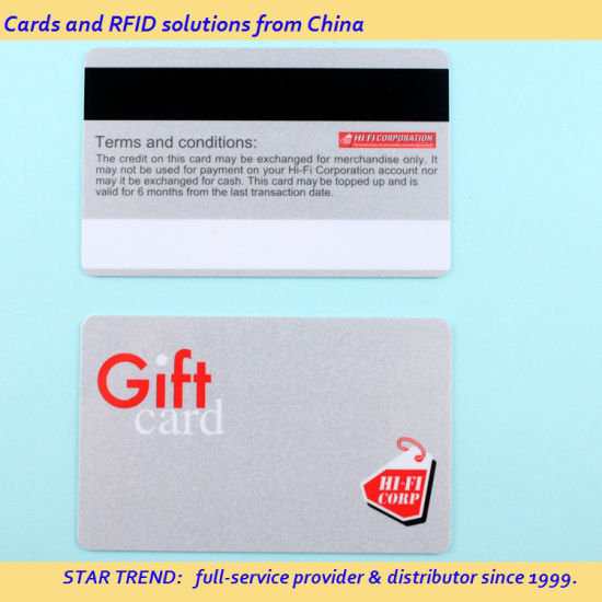 Tank Fill Card Made From Plastic Standard Cr80 0.76mm Ymck Color pictures & photos