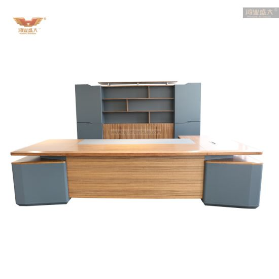 Executive Manager Office Desk E1 MDF Luxury Executive Office Table
