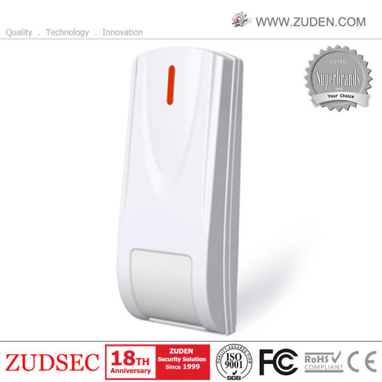 Wireless Curtain PIR Motion Detector with 315MHz/433MHz Frequency pictures & photos