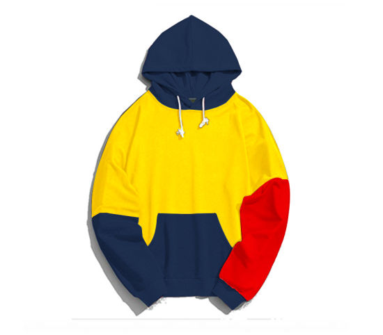 Cut and Sew Oversize Hoody for Men with Long Sleeve (007)