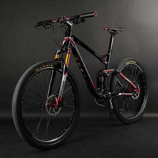 26er 20speed Aluminum Mountian Bike with Full Suspension Air Fork