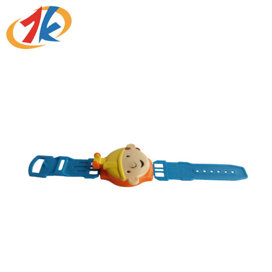 Promotional Cute Plastic Watch Toy with Cover for Promotion