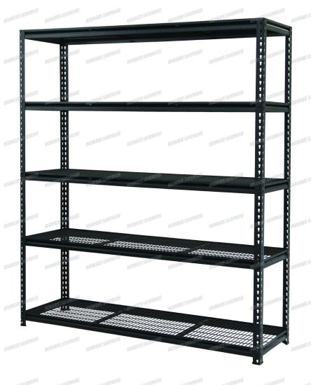 Heavy Duty Boltless Rivet Shelving pictures & photos