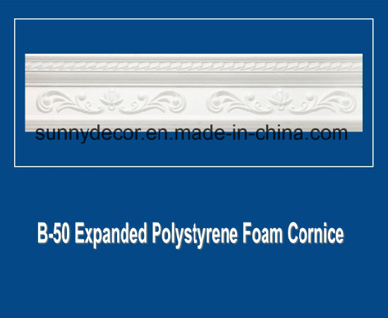 Light Weight EPS Polystyrene Foam Cornice for Interier Decoration