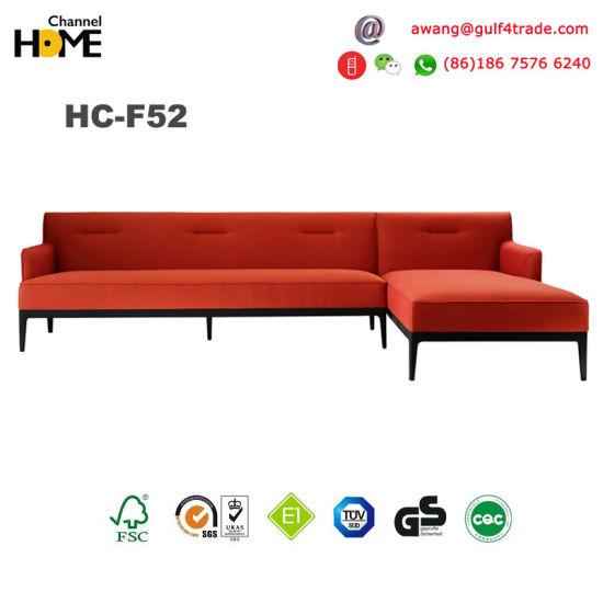 Modern Solid Wood Corner Sofa Bed Design Hc F52b